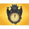 Horloge Figurine Gargouille Montre Murale Gothique Médiévale Fantasy Gargouilles :    Horloge Figurine Gargouille Montre Murale Gothique Médiévale Fantasy GargouillesGAR1229.    La gargouille qui sert de décor...
