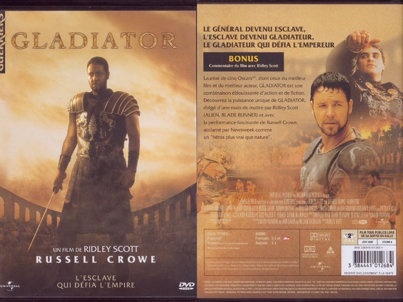 an analysis of the movie gladiator by ridley scott As the big winner in this year's academy awards, ridley scott's movie gladiator is understandably receiving lots of attention it has all the ingredients an audience loves: blood, gore, passion, and revenge -- all set to the magnificently reconstructed settings of the greatest empire in the history of western civilization: rome.
