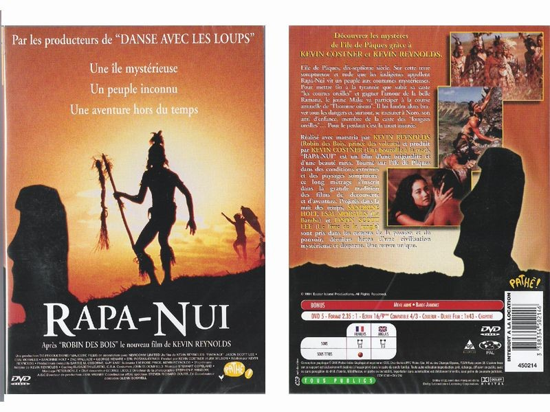 rapa nui dvd film kevin reynomds sandrine holt esai morales jason scott lee anticae. Black Bedroom Furniture Sets. Home Design Ideas