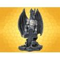 Statuette Dragons Figurine Dragon et Cuirasse avec Croix Celtique