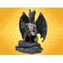 Statuette Dragons Figurine Dragon en Armure avec Épée