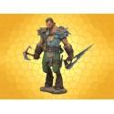 Figurine TYR Lengend of Blade Hunter Statuette Articulée Satyre Chevaucheur de Dragons