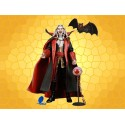 Figurine DRACULA Castlevania Statuette Articulée Compte Vampire et Chauve Souris