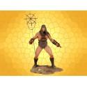Figurine Conan Combattant Statuette Articulée du Célèbre Barbare Cimmérien des Ages Hyboriens