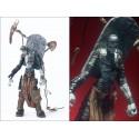 Figurine Fossoyeur Spawn Grave Digger Statuette Articulée Mort Vivant et Faux Pelle Zombie Tombeau