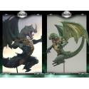 Berserker Dragon Clan Figurine Série 8 Statuette Dragons Articulés Mac Farlane