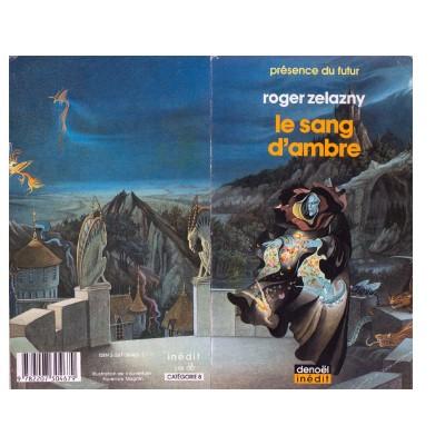 Le sang d 39 ambre roman heroic fantasy de roger zelazny for Le miroir d ambre