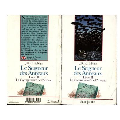 Le Seigneur des Anneaux JUNIOR 2/6 Roman La Communauté de l'Anneau