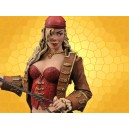 Figurine Femme Pirate Sexy Anne Bonny Femmes Fatales Fouet Coffre
