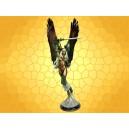 Angelus Valkyrie Déesse Mythologie Nordique Statuette Viking Faux Bronze
