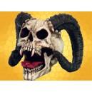 Crâne Démon Cornu Squelette Crânes Gothique Diable Malfaisant :    Crâne Démon Cornu Squelette Crânes Gothique Diable MalfaisantDOD124.   Démon cornu de grandes dimensions avec dents de...
