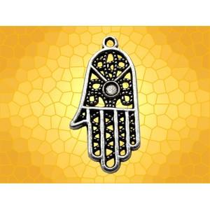 pendentif symbolique main de fatma religieux bijou porte bonheur anticae. Black Bedroom Furniture Sets. Home Design Ideas