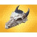 Bougeoir Crâne Dragon Porte Bougie Squelette Gothique Fantasy Crânes Dragons