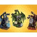 Lot des 3 Dragons Tricéphales Couleur Hydres Cuirassés Dragons Guerriers :    Lot des 3 Dragons Tricéphales Couleur Hydres Cuirassés Dragons GuerriersDRA360120
