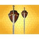 Épée Médiévale de Tournoi Arme du ROI Édouard III