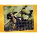 Tapis de Souris Tomb Raider Lara Croft en Action avec Pistolet :    Tapis de Souris Tomb Raider Lara Croft en Action avec Pistolet