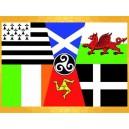 Drapeau Panceltique 150 x 90 cm Celte Régions celtiques Drapeaux Régionaux :    Drapeau Panceltique 150 x 90 cm Celte Régions celtiques Drapeaux RégionauxAPO348005