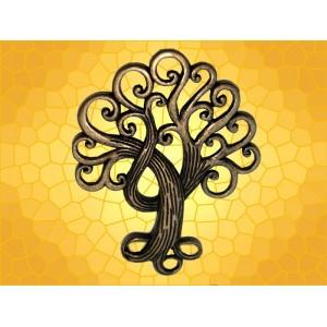 Pendentif Celtique Arbre de Vie Bijou Collier Celte Symbolique Bronze