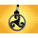 Collier Celte Trikelle Bijoux Celtiquse Bijou Triskell Triquete Pendentif Symbolique