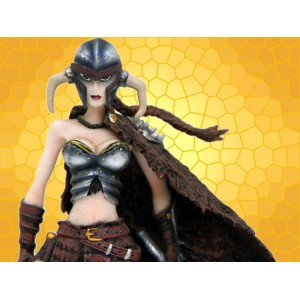 Figurine Viking Statuette Guerrière Valkyrie Sexy Heroic Fantasy Femmes Vikings