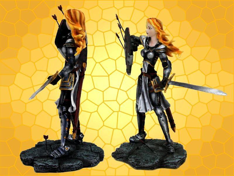 Favori Figurine Moyen Age Statuette Guerrière Médiévale Sexy Heroic  EW62