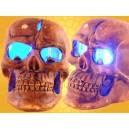 Petit Crâne Lumineux Décoration Gothique Lumineuse Crânes DOD6138