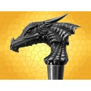 Canne Épée Tête de Dragon Cannes de Marche Fantasy Dragons SteamPunk Cane Sword :    Canne Épée Tête de Dragon Cannes de Marche Fantasy Dragons SteamPunk Cane Sword CAN5859. Une tête de dragon stylisée...