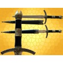 Dague Médiévale épée Chevalier Moyen Age Mini épées Coupe Papiers
