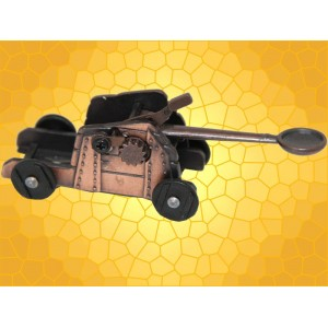 Catapulte Médiévale Taille Crayons Miniature Baliste Métal