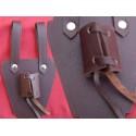 Support  pour épée ou Dague Passant Ceinture Médiéval en Cuir Marron