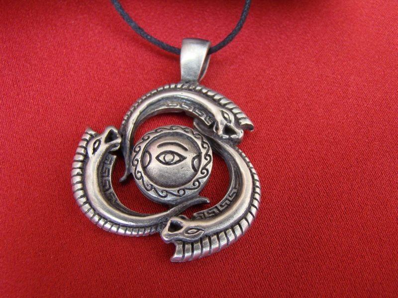 Pendentif grec flots gr ce antique collier antiquit for Porte grecque