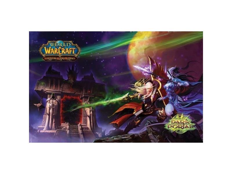 Image Tapis De Jeu World Of Warcraft Beyond Dark Portal Pour Jeux Cartes Download