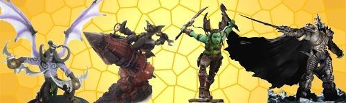 Figurines Warcraft WOW